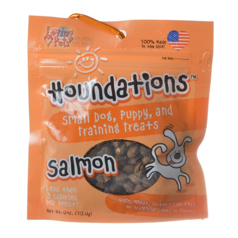 Loving Pets Houndations Training Treats - Salmon