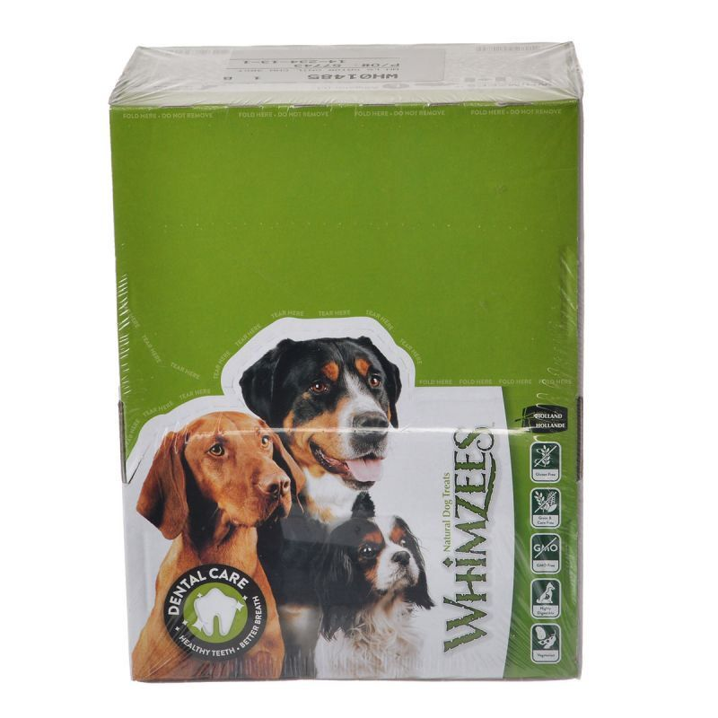 Whimzees Natural Dental Care Alligator Dog Treats