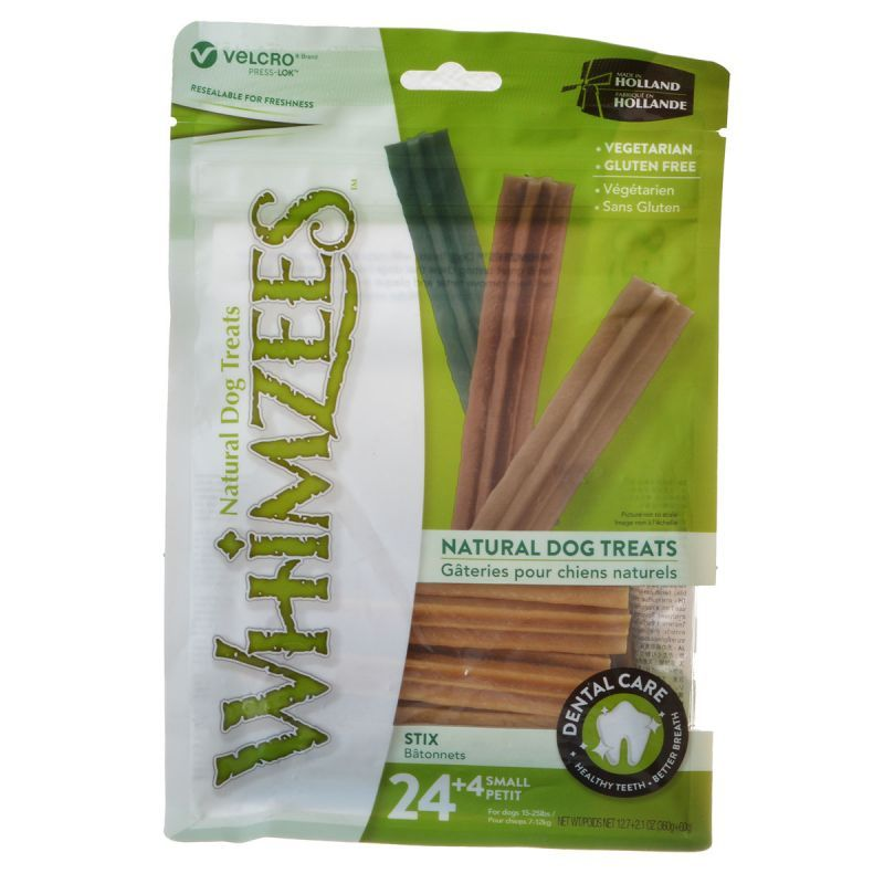 Whimzees Natural Dental Care Stix Dog Treats