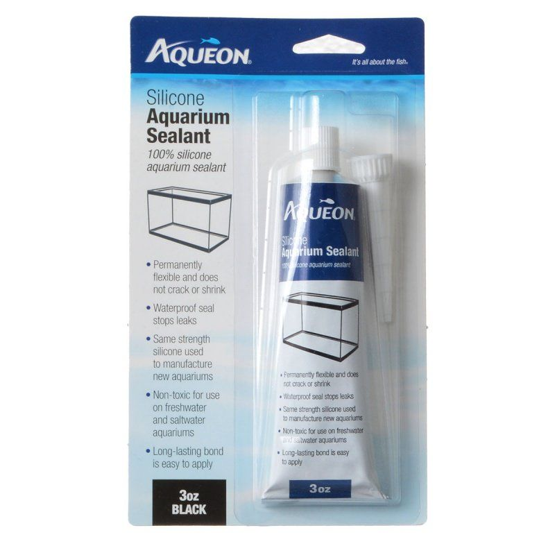 Aqueon Silicone Aquarium Sealant - Black