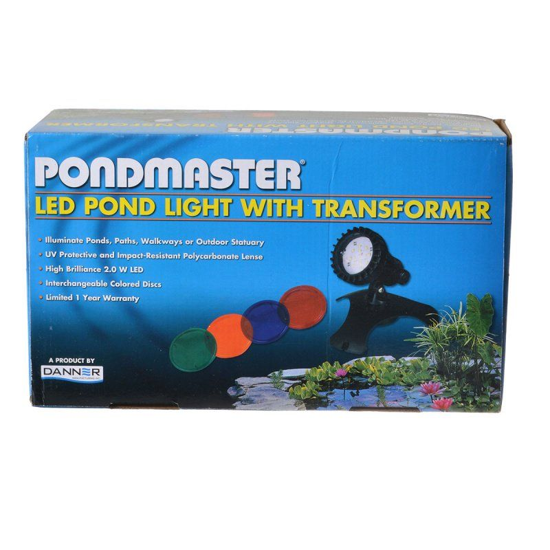 Pondmaster LED Pond Light Set with Transformer
