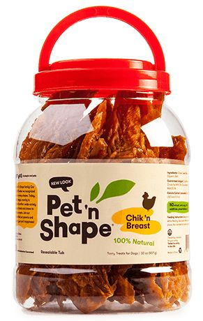 Pet 'n Shape Chik 'n Breast Dog Treats