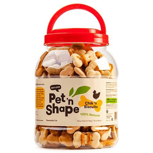 Pet 'n Shape Chik 'n Biscuits Dog Treats