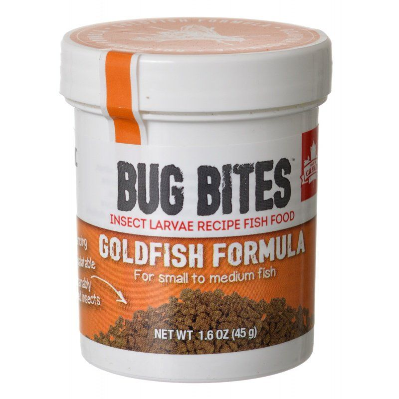 Fluval Bug Bites Goldfish Formula Granules for Small-Medium Fish