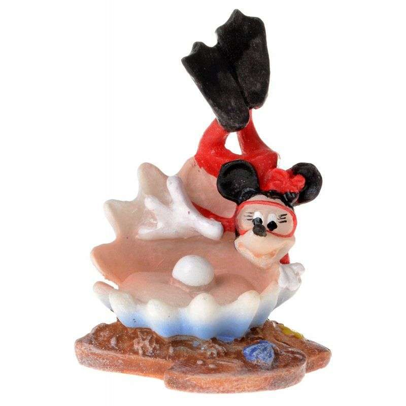 Penn Plax Diving Minnie Resin Ornament