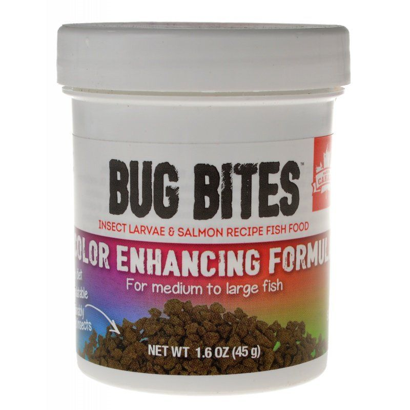 Fluval Bug Bites Color Enhancing Formula for Medium-Large Fish