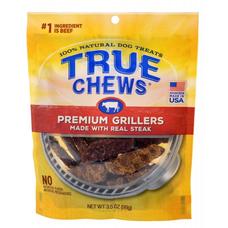 True Chews Premium Grillers with Real Steak