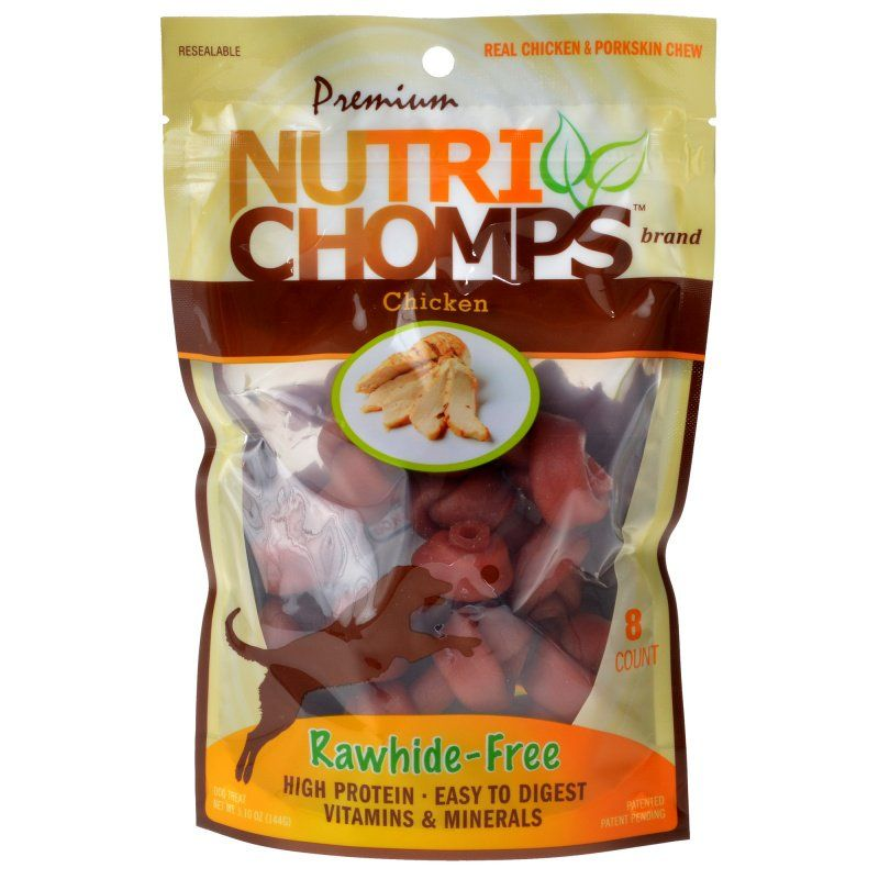 Premium Nutri Chomps Chicken Flavor Mini Knots