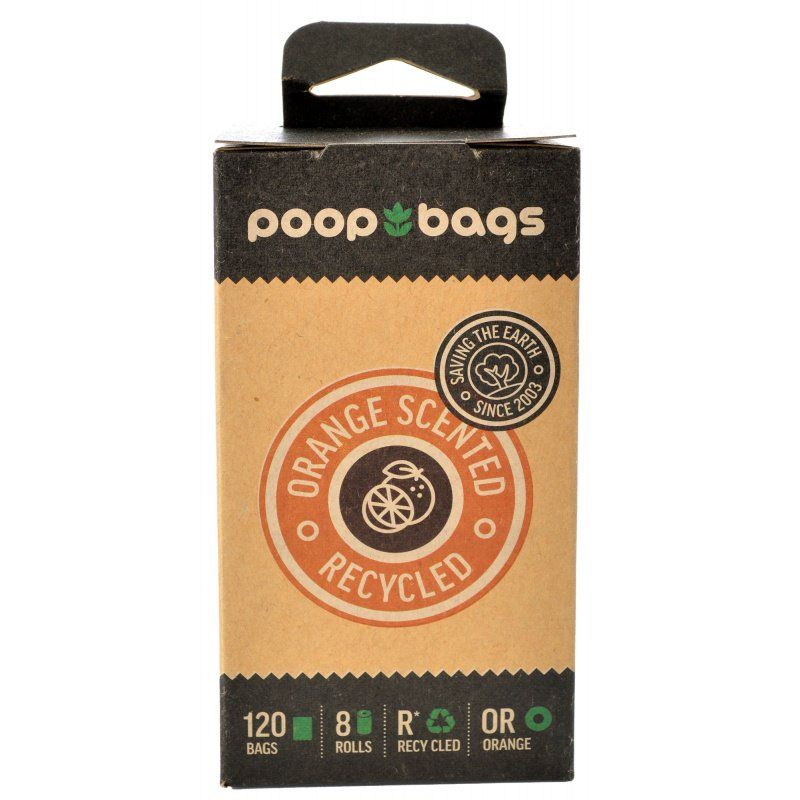 PoopBags Orange Scented Recycled Bags