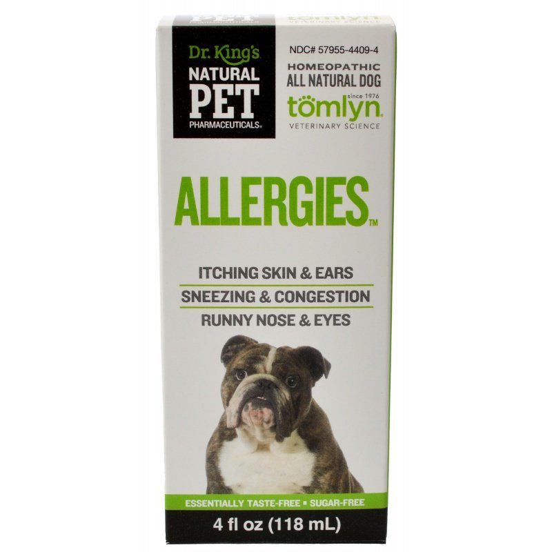 Tomlyn Natural Pet Pharmaceuticals Allergies Dog Remedy