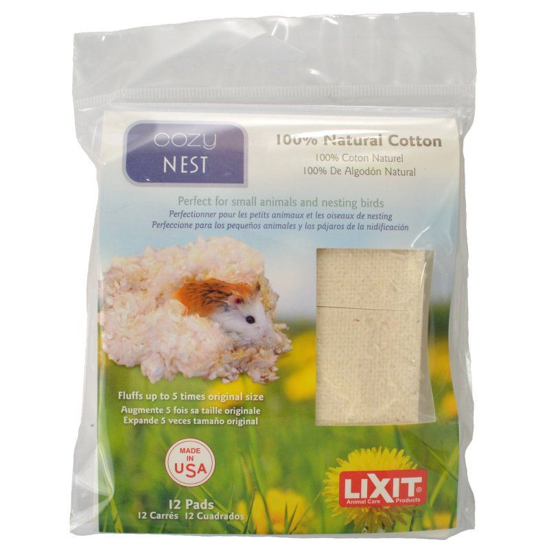 Lixit Cozy Nest Natural Cotton Bedding