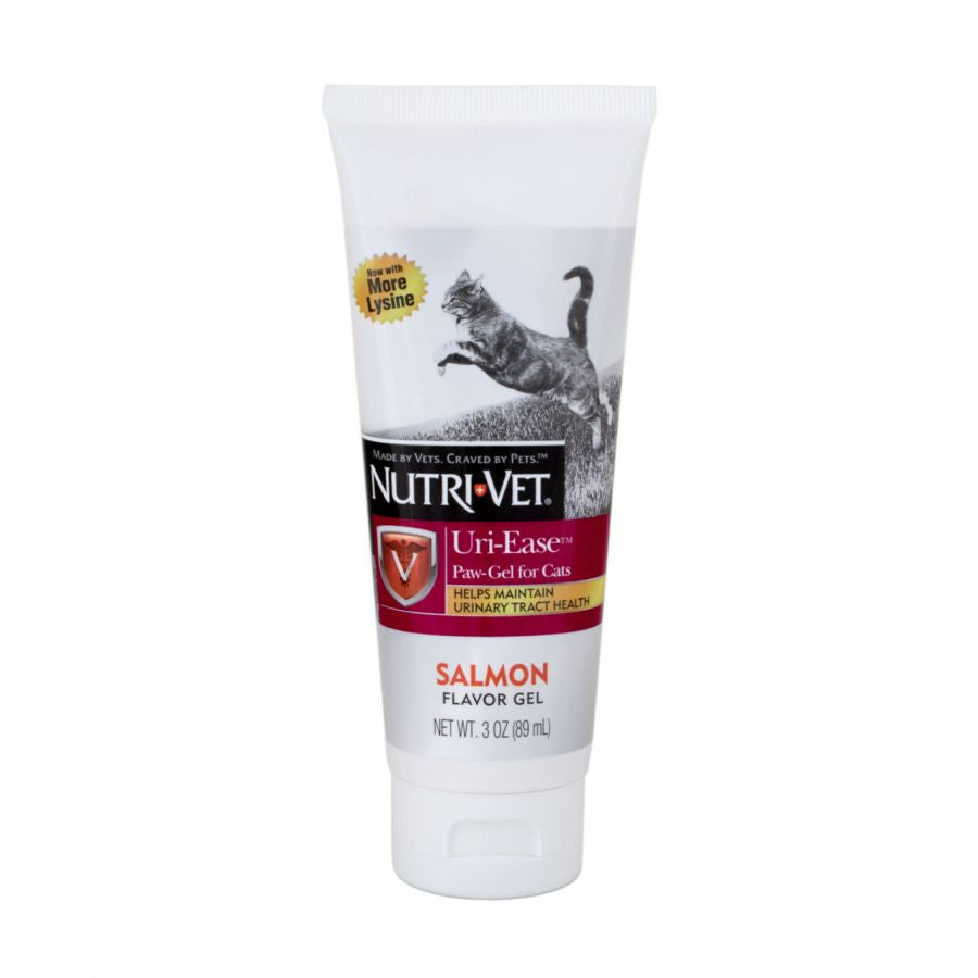 Nutri-Vet Uri-Ease Paw Gel for Cats - Salmon Flavor