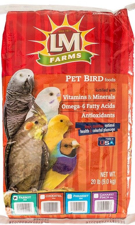 LM Animal Farms Large Parrot Diet