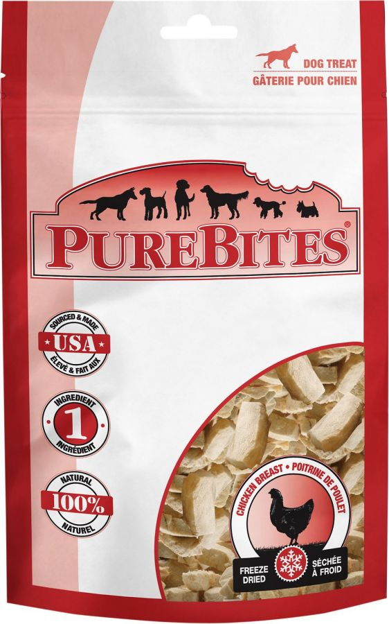 PureBites Chicken Breast Freeze Dried Dog Treats