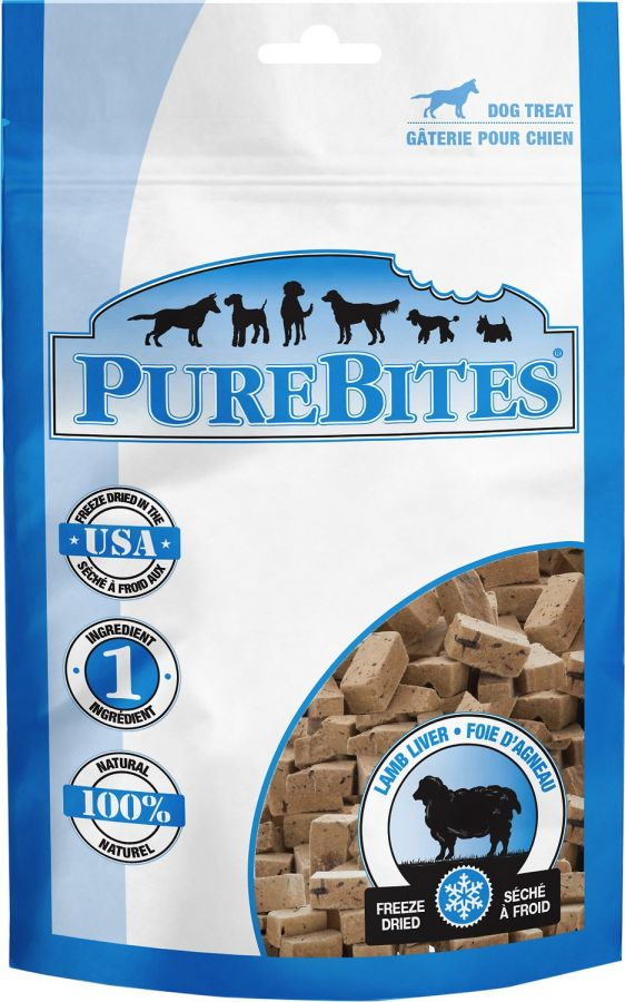 PureBites Lamb Liver Freeze Dried Dog Treats