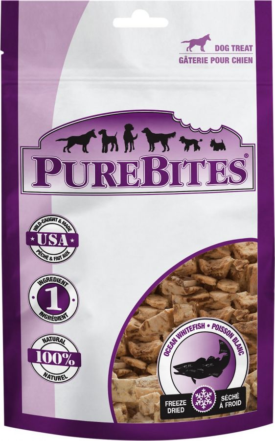 PureBites Ocean Whitefish Freeze Dried Dog Treats