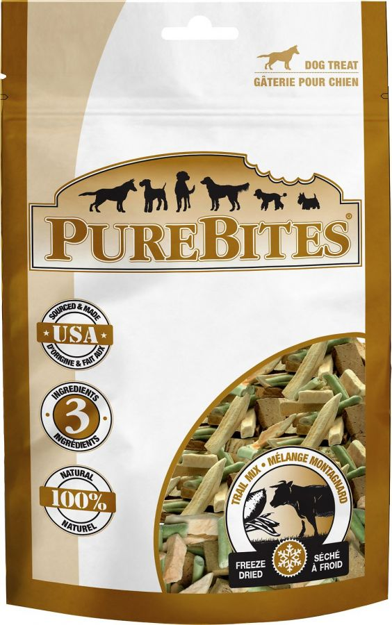 PureBites Trail Mix Freeze Dried Dog Treats