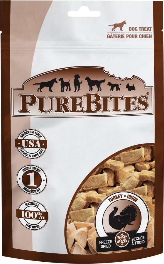 PureBites Turkey Freeze Dried Dog Treats