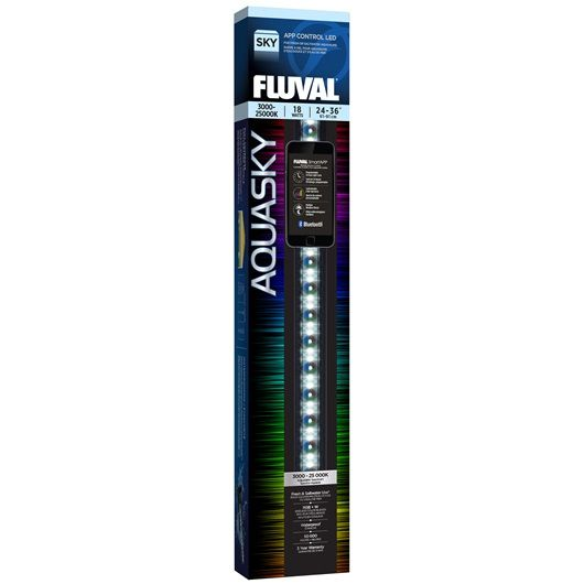 Fluval Aquasky Bluetooth LED Aquarium Light