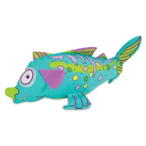 Fat Cat Finimals Dogfish Dog Toy