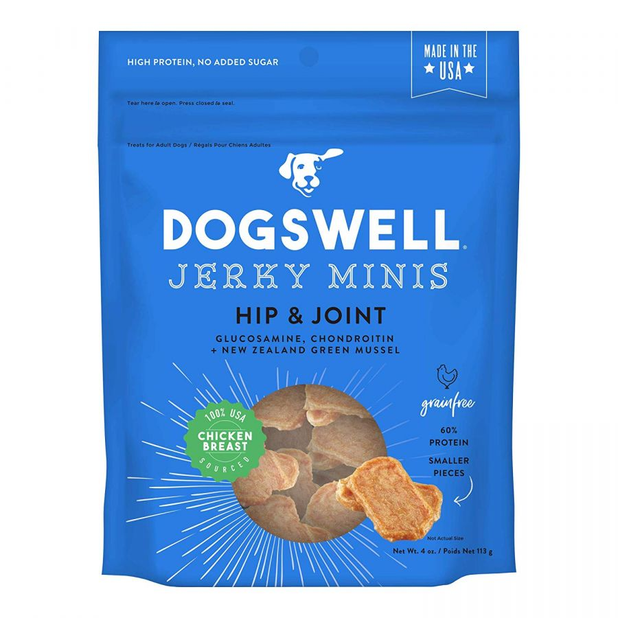Dogswell Jerky Minis Hip & Joint Dog Treats - Chicken