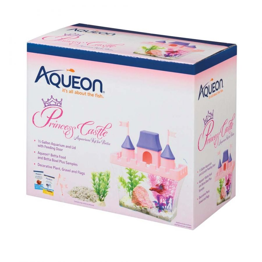 Aqueon Princess Castle Aquarium Kit for Betta