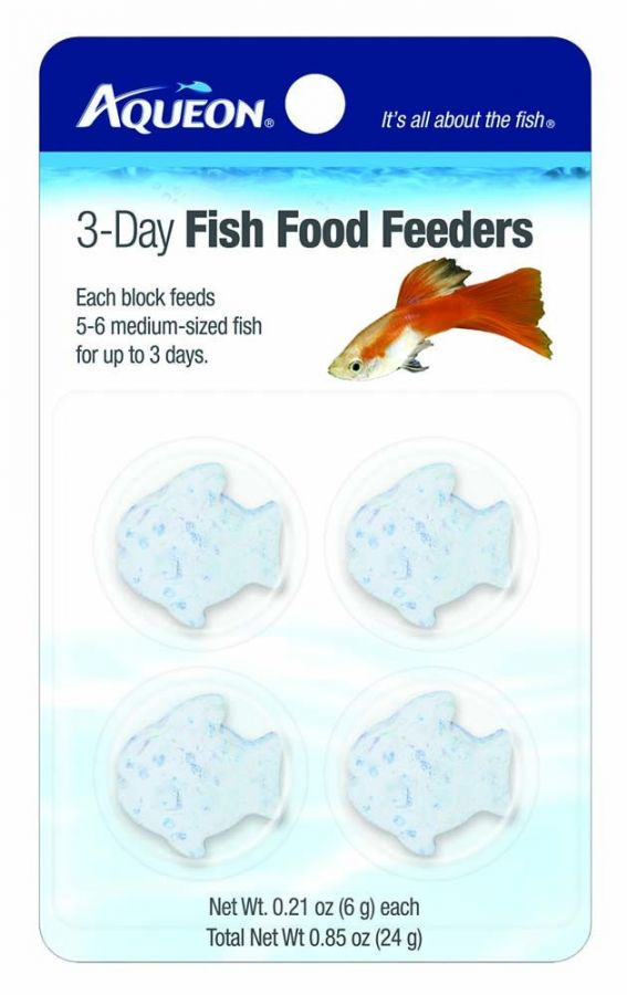 Aqueon 3-Day Fish Food Feeders