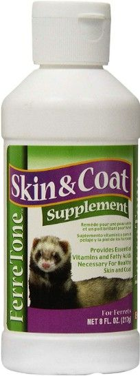 8 In 1 Ferretone Skin & Coat Supplement