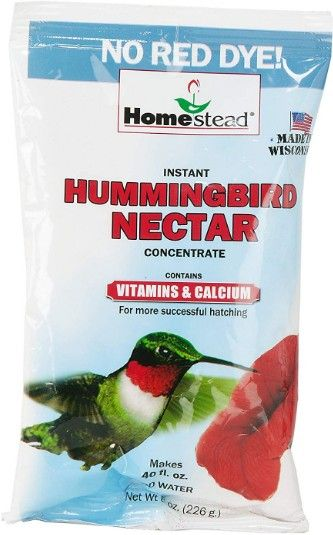 Homestead Hummingbird Clear Nectar Sugar Concentrate