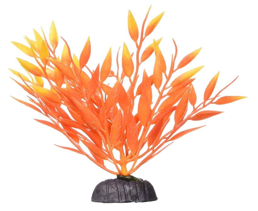 Marina Betta Fire Grass Plastic Plant