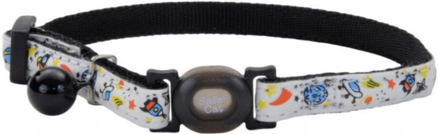 Coastal Pet Safe Cat Glow in the Dark Adjustable Collar Galaxy