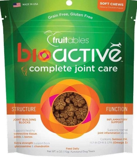 Fruitables BioActive Complete Joint Care Soft Chew Dog Treats
