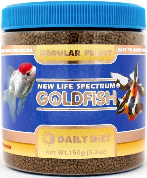 New Life Spectrum Goldfish Food Regular Pellets