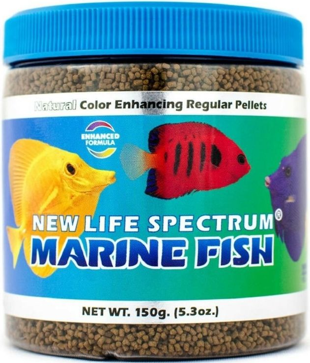New Life Spectrum Marine Fish Food Regular Sinking Pellets
