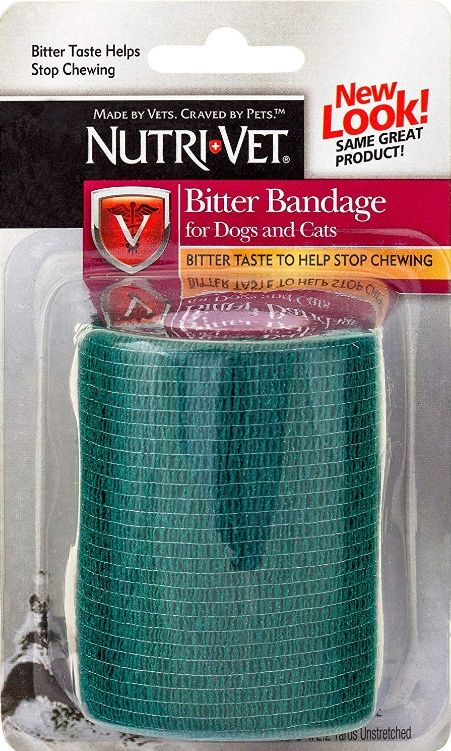 "Nutri-Vet 2"" Bitter Bandage for Dogs and Cats - Colors Vary"