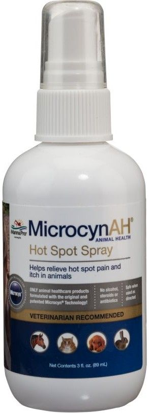Nutri-Vet MicrocynAH Hot Spot Spray Gel