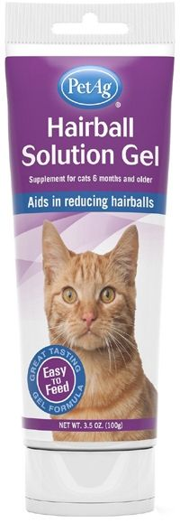 PetAg Hairball Solution Gel for Cats