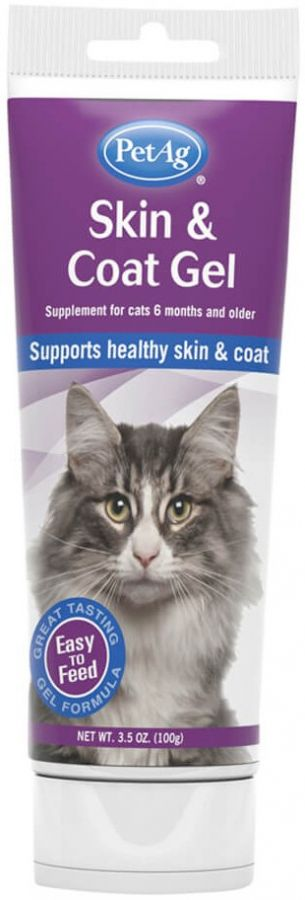 PetAg Skin & Coat Gel for Cats