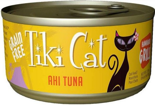 Tiki Cat Ahi Tuna Cat Food 2.8 oz can