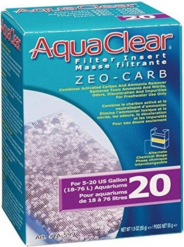 AquaClear Filter Insert - Zeo-Carb
