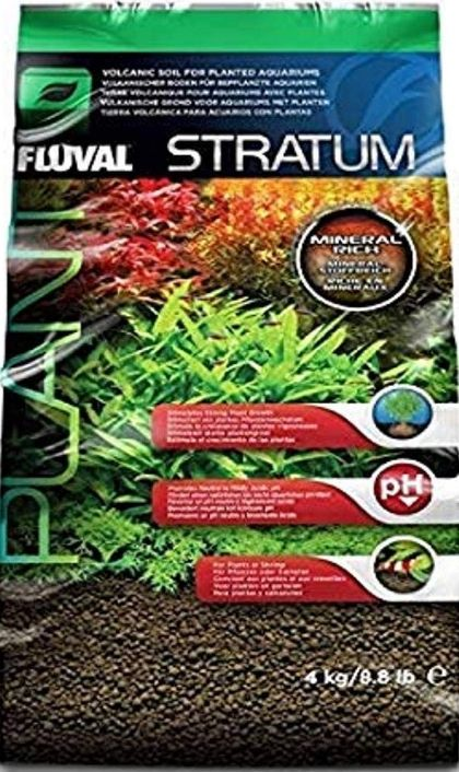 Fluval Plant and Shrimp Stratum Aquarium Substrate