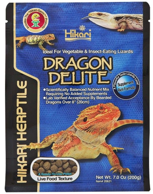 Hikari Herptile Dragon Delite for Lizards