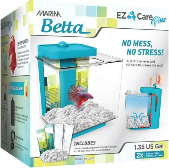 Marina Betta EZ Care Plus Aquarium Kit