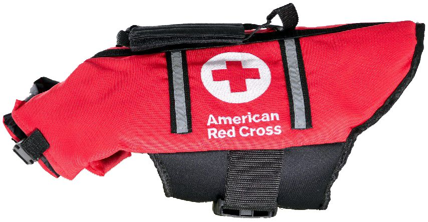 Penn-Plax American Red Cross Dog Life Jacket