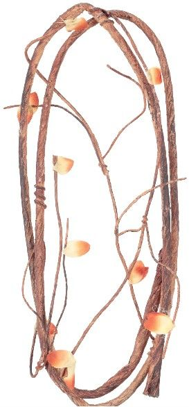 Reptology Climber Vine with Leaves - Brown