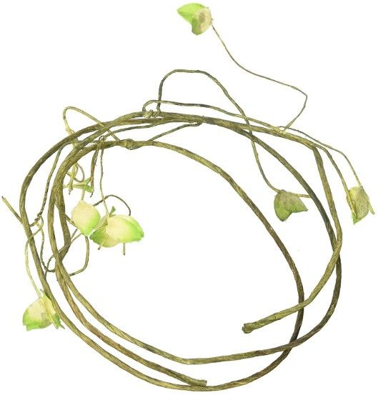 Reptology Climber Vine with Leaves - Green