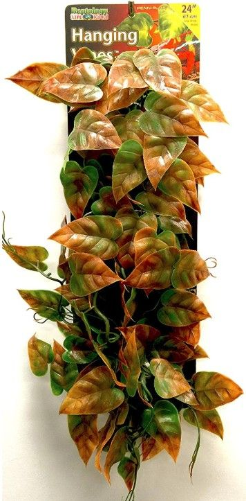 Reptology Reptile Hanging Vine Green and Brown