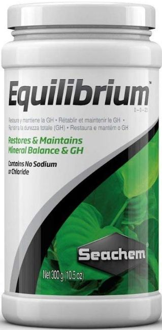 Seachem Equilibrium Mineral Balance & GH Water Treatment