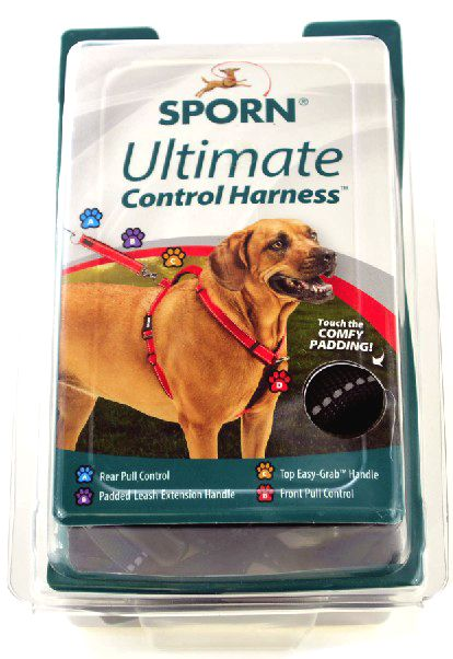 Sporn Ultimate Control Harness for Dogs - Black