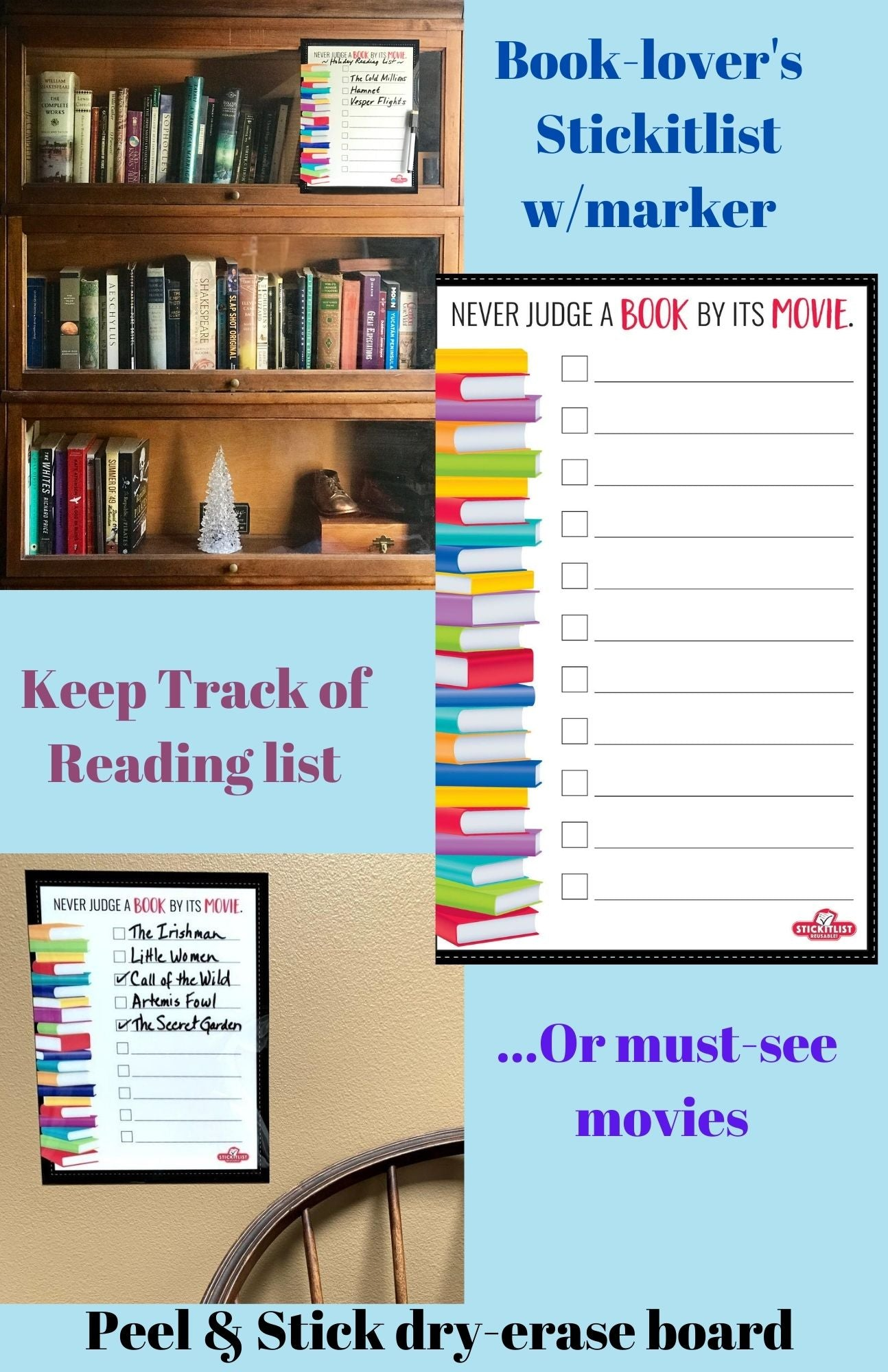Keep Track of Your Holiday Books & Movies